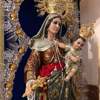 EUCARISTÍA DE INICIO DE CURSO 2019-20 Y OFRENDA FLORAL A NUESTRA PATRONA