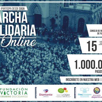 Fundación Victoria dará un millón de pasos solidarios de manera online
